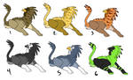 ADOPTABLES - Griffin by CasFlores