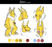 OCT End Run - Jairo character sheet by CasFlores