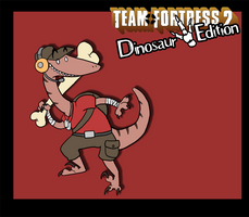 Random Art - TF2 Dinosaur Edition - Scout by CasFlores