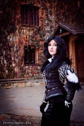 Witcher 3 - Castle Yard by ilona-lab