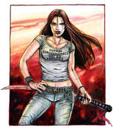 Mazikeen Red by funrama