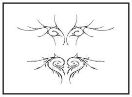 pine-eyed wings by Blastermind