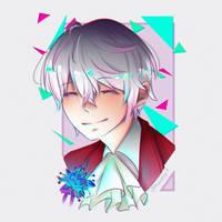 Ray - Mystic Messenger by Amunette-Art