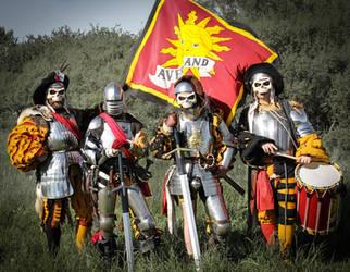 Warhammer Fantasy - Von Kaltdorf's Death Heads by Ring-A-Ding