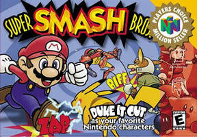 origin of smash bros by jyb-art