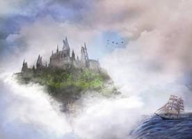 Castle in the Clouds by Izzie-Hill