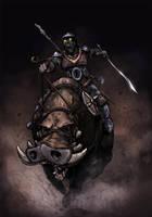 Goblin Rider by SpicerColor
