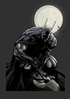 Quick color Batman by SpicerColor