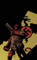 Mignola Hellboy Practice by SpicerColor