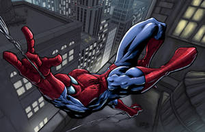 Spider-Man F. Peniche by SpicerColor