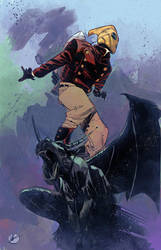 Rocketeer by Matteoscalera colors by SpicerColor