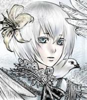 Lace bird by avodkabottle