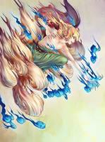 Ninetails III by avodkabottle