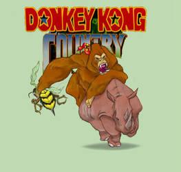 Donkey Kong by Jimmyvivino