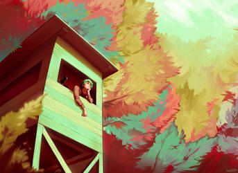 Treehouse by Meirii