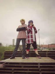 Tohru Mutou and Natsuno Yuuki (shiki) by tsukinomai90