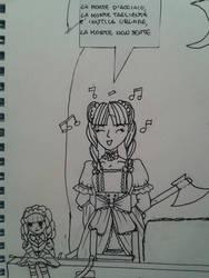 Amanda  is happy to kill by tsukinomai90