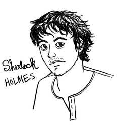 Holmes Headshot by Kiyda