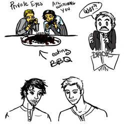 Moar SH doodles by Kiyda