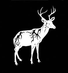 Buck cutout by Werebeast