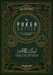 Flyer - Poster: The Poker Battle by blercstudio