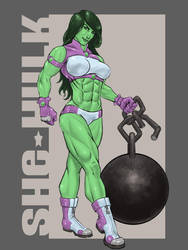 She Hulk by TTWorX