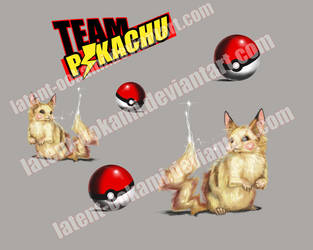 Realistic Pikachu Sticker Pack by latent-ookami