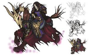 Dead Rider by Girhasha
