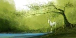 Spirit of the Forest by Girhasha