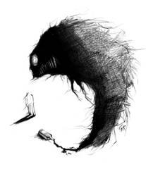 Alcoholic demon by Girhasha