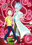 Rick and Morty by Traupa