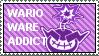 Wario Ware Addict Stamp by HoppyBadBunny