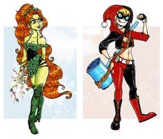 Ivy and Harley by lainchan
