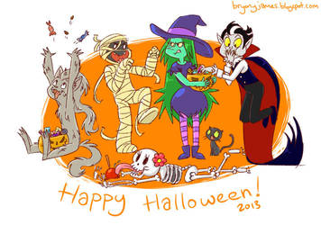 Halloween 2013 by lainchan