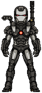 War Machine by alexmicroheroes