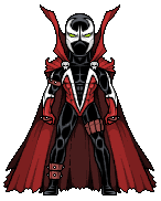 Spawn (first costume) by alexmicroheroes