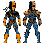 Deathstroke The Terminator by alexmicroheroes