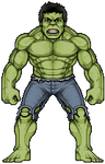 The Hulk by alexmicroheroes