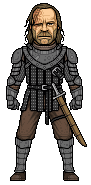 Sandor Clegane (The Hound) by alexmicroheroes