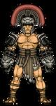 Hercules (God of War) by alexmicroheroes