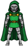 Dr.Doom by alexmicroheroes