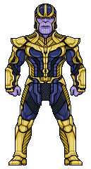 Thanos by alexmicroheroes
