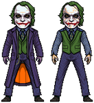 The Joker (The Dark Knight) by alexmicroheroes