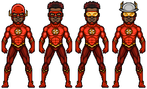 The Flash III (AA Universe) by alexmicroheroes