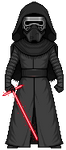Kylo Ren by alexmicroheroes