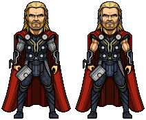 Thor by alexmicroheroes