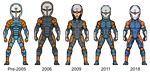 Throwback Thursday- Grey Fox Timeline by alexmicroheroes