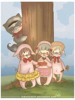 Three Little Pigs by lemontree11