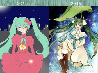 Progress (4 years) by CosChocolatefluff