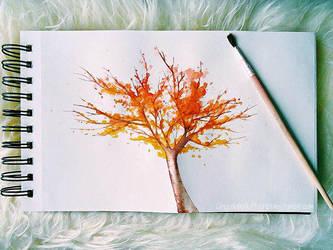 Fall by CosChocolatefluff